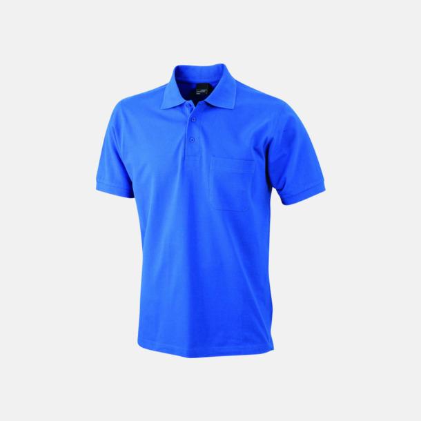 Royal Fickförsedda pikétröjor med reklamtryck