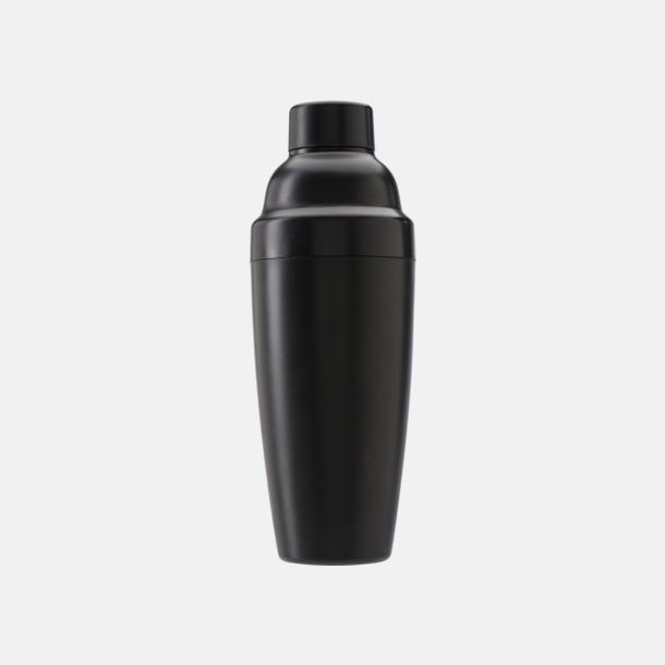 Svart Drinkskakare i plast med reklamtryck