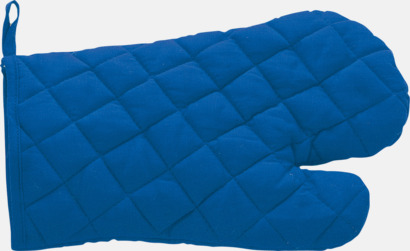 Blå Grillvantar till lågt pris - med reklamtryck