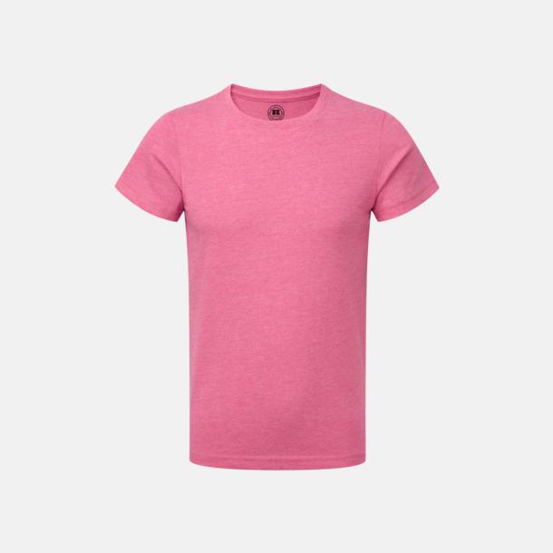 Pink Marl (pojke) Barn t-shirts i u- och v-hals med reklamtryck