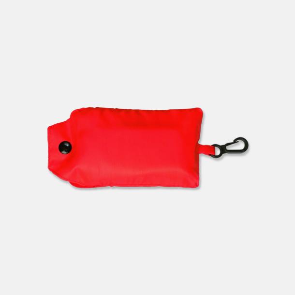 Röd Trendig, vikbar väska med belt-clip