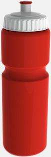 750 ml Sportiga vattenflaskor i 3 storlekar - med reklamtryck