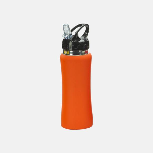 Orange Vattenflaskor i många färger - med reklamtryck