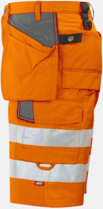 Orange  Herrarbetsshorts Klass 2