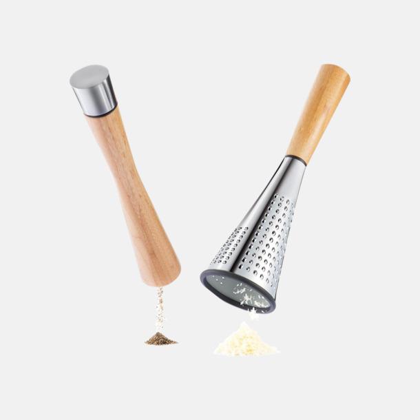 Pepparkvarn & ostrivjärn med reklamlogo