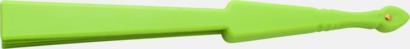Limegrön Klassiska solfjädrar med reklamtryck