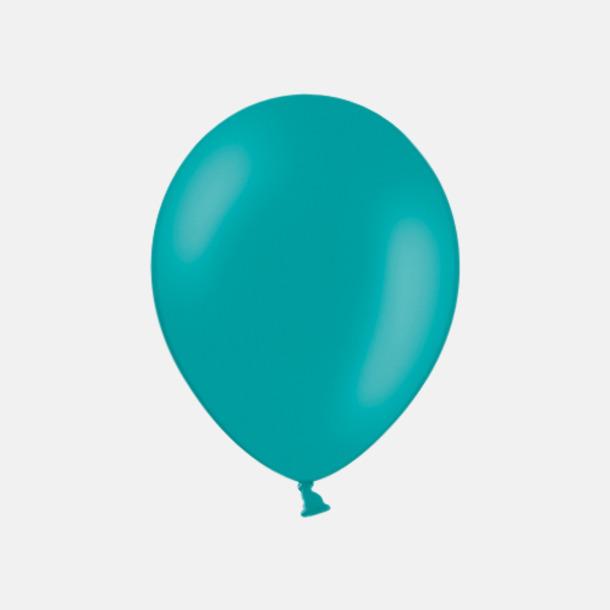 Turquoise 013 (PMS 320) Ballonger med tryck