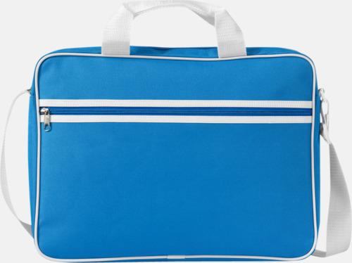 Aqua Vadderade laptopväskor i retrodesign - med reklamtryck