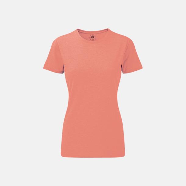 Coral Marl (dam) Färgstarka t-shirts i herr- och dammodell med reklamtryck