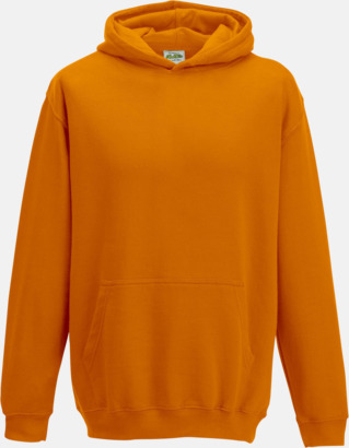 Orange Crush Huvtröjor för barn i många färger - med reklamtryck