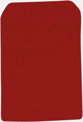 Regency Red Förklädesfodral med reklamtryck