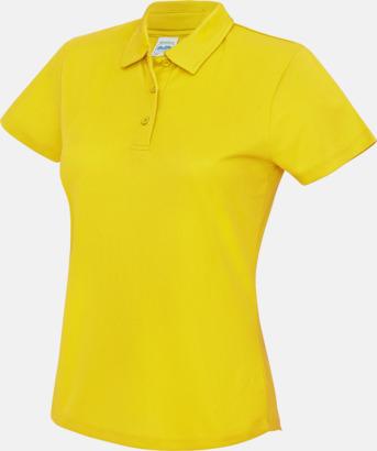 Sun Yellow Dampikétröjor i många färger - med reklamtryck