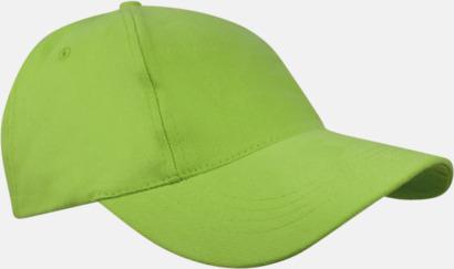 Ljusgrön Sportiga kepsar med brodyr eller tryck