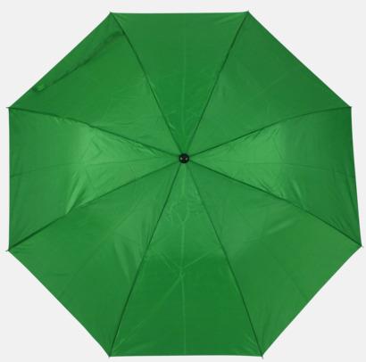 Grön (2) Kompaktparaply i många färgalternativ
