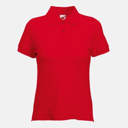 Red Figursydd dampiké med reklamtryck eller brodyr