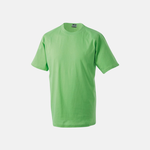 Limegrön Barn t-shirtar av kvalitetsbomull med eget tryck