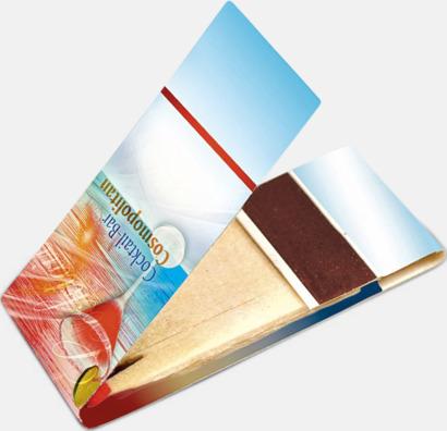 Litet tändplån med 10 stickor - med reklamtryck