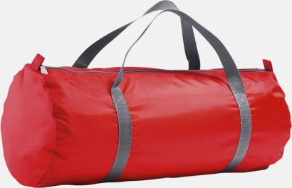 Röd Resväskor i 2 storlekar med reklamtryck