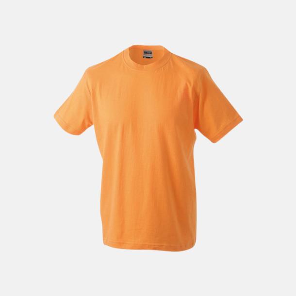 Orange Barn t-shirtar av kvalitetsbomull med eget tryck