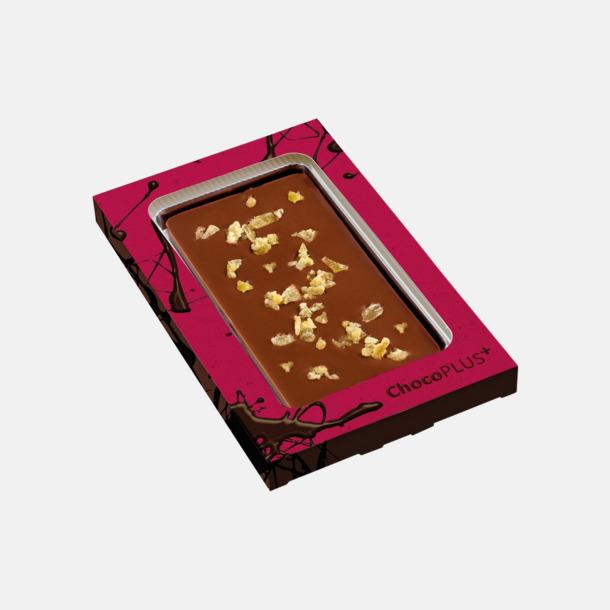 Ingefära Lyxiga chokladkakor i många smaker med reklamtryck