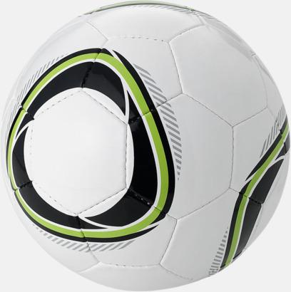 Svart/Grön Designade fotbollar med reklamtryck