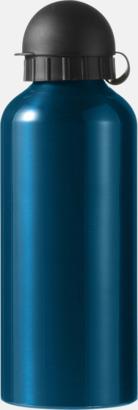 Mörkturkos Vattenflaskor av stål med gravyr