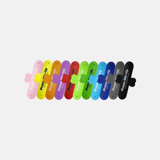 Flexibla mobilställ av silikon med reklamtryck