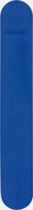 Blå Pennfodral i sammet med tryck