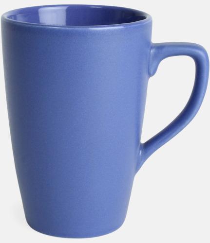 Blå Klassiska kaffemuggar med eget tryck