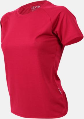 Bordeaux red Sport t-shirts i många färger - med reklamtryck