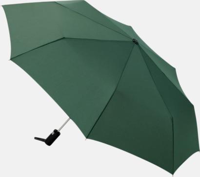 Mörkgrön Kompaktparaplyer med automatisk uppfällning