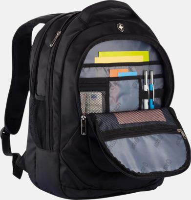 Kvalitetsryggsäckar med laptopfack från Swiss Peak - med reklamtryck