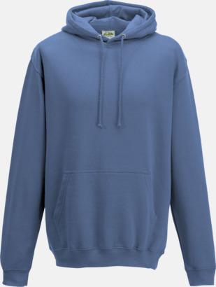Cornflower Blue Billiga collegetröjor i unisexmodell - med tryck
