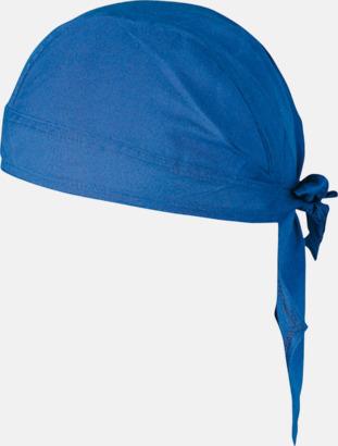 Blå Sjaletter med reklamtryck