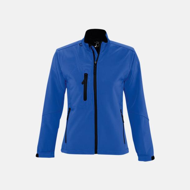 Royal Blue (dam) Softshell jackor i herr- & dammodell med reklamtryck
