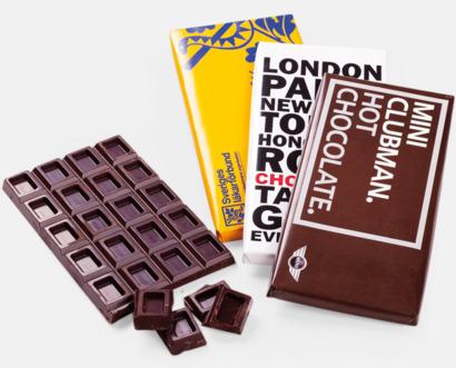 CMYK-tryck Chokladkaka med eget tryck