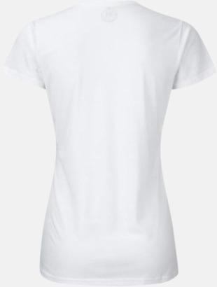 Sublimerings t-shirts med feminin passform - med reklamtryck
