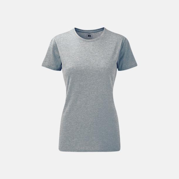 Silver Marl (dam) Färgstarka t-shirts i herr- och dammodell med reklamtryck