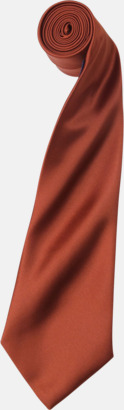 Chestnut Slipsar i supermånga färger