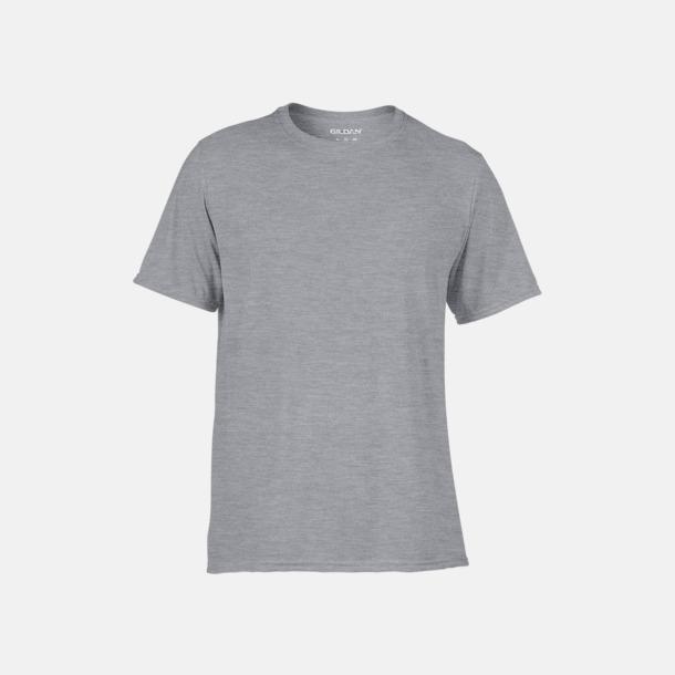 Sport Grey (heather) Funktionströjor med eget tryck