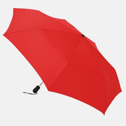 Röd Basildon Kompakt - Paraplyer Med tryck