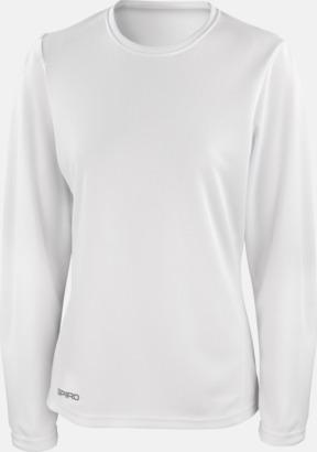 Långärmade funktionströjor i herr- & dammodell med reklamtryck