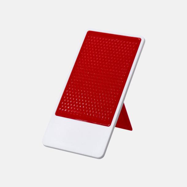 Röd / Vit Glidskyddbehandlat mobilställ med tryck
