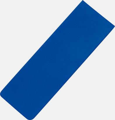 Blå Magnetiska bokmärken med reklamtryck