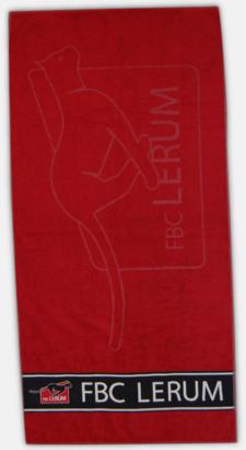 Märk hela handduken med din loggga