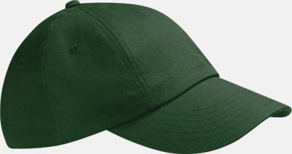 Bottle Green McGwire - Sportig lågprofilkeps