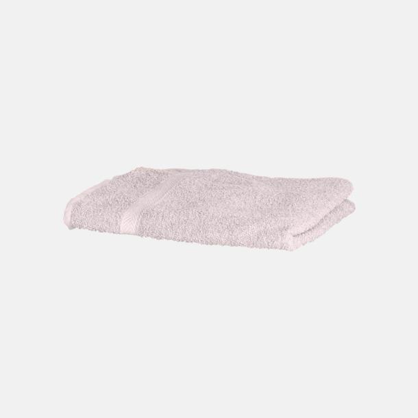 Rosa Exklusiva handdukar med egen brodyr
