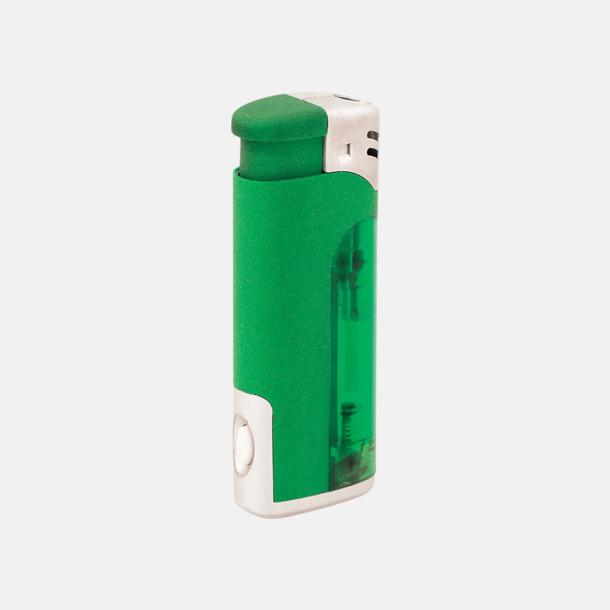 Grön Tändare och ficklampa i 1 - med reklamtryck