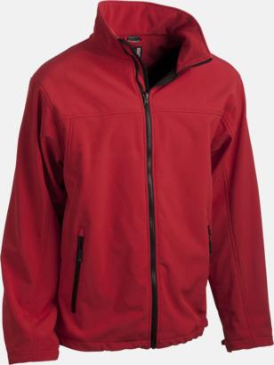 Röd (innerjacka - herr) Polyjacket 3 in 1 med eget reklamtryck eller brodyr