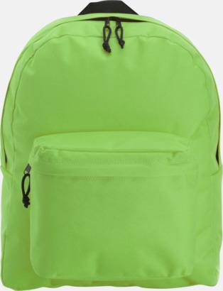 Ljusgrön Stilren och klassisk ryggsäck med reklamtryck